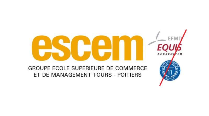 L ESCEM perd son accréditation AACSB en 2016 - Ecoles commerce a3dd5ee74094