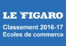 Classement écoles de commerce Le Figaro 2016-2017