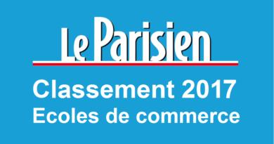 Classement écoles de commerce Le Parisien 2017