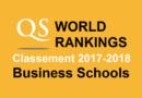 Classement écoles de commerce QS 2017-2018