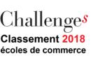 Classement écoles de commerce Challenges 2018