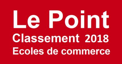 Classement écoles de commerce Le Point 2018