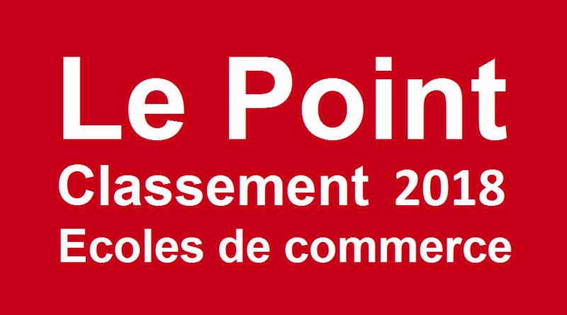 86b3f0af8745c9 Classement écoles de commerce Le Point 2018 - Ecoles commerce