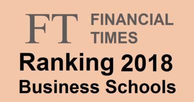Classement des écoles de commerce en Europe Financial Times 2018