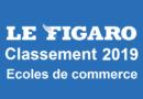 Classement écoles de commerce Le Figaro 2019
