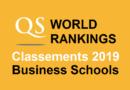 Classements écoles de commerce QS 2019