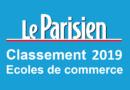 Classement écoles de commerce Le Parisien 2019