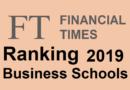 Classement des écoles de commerce Financial Times 2019