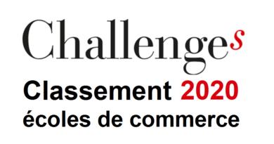 Classement écoles de commerce 2020 par Challenges